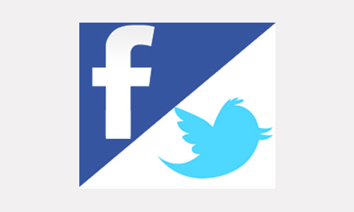 Gestion / création de pages facefook et twitter